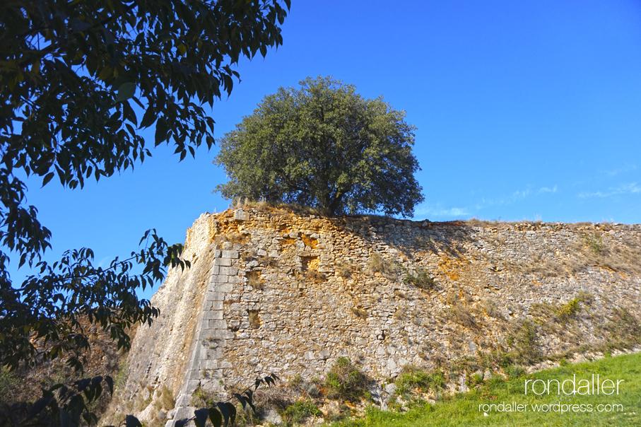 Castell de Montjuïc. Girona. Gironès