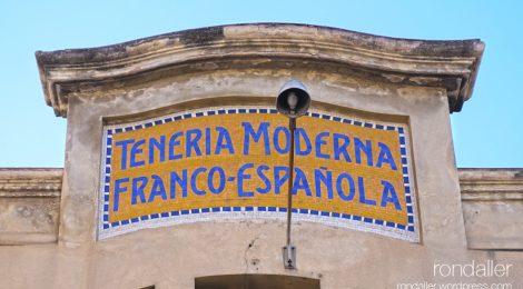 Mollet del Vallès, Vallès Oriental, mosaic, fàbrica