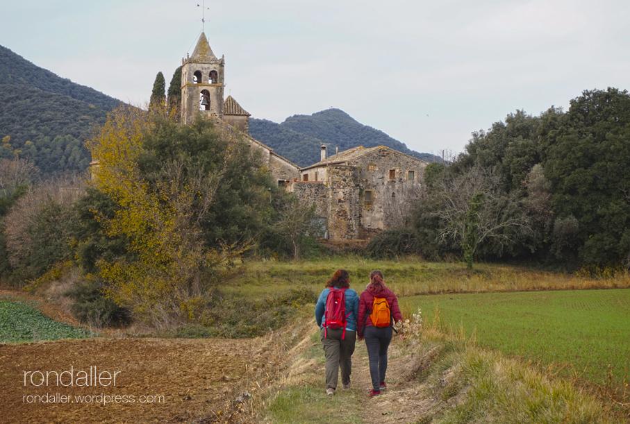 Església de Sant Vicenç de Canet d'Adri, Vall de Llémena, Gironès