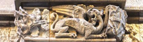 església Mare de Déu del Rosari, Ausiàs Marc 54, Barcelona, neogòtic, Dominics, griu