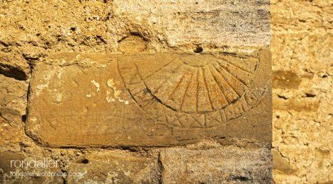Sant Vicenç, La Sala de Camós, El Pla de l'Estany, rellotge de sol