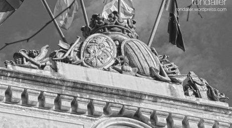 Ajuntament, Mataró, Maresme, escuts, simbologia, heràldica