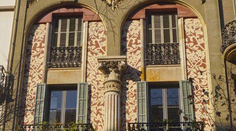 Casa Tomàs Roger, Barcelona, carrer Ausiàs Marc, Enric Sagnier