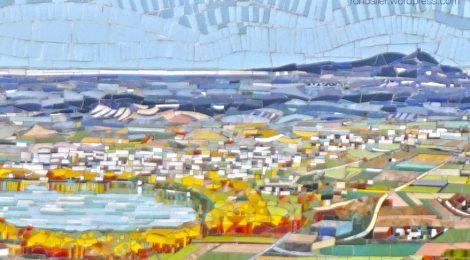 Mosaic, Porqueres, Pla de l'Estany, Armand Olivé, Lluís Roura, Mata