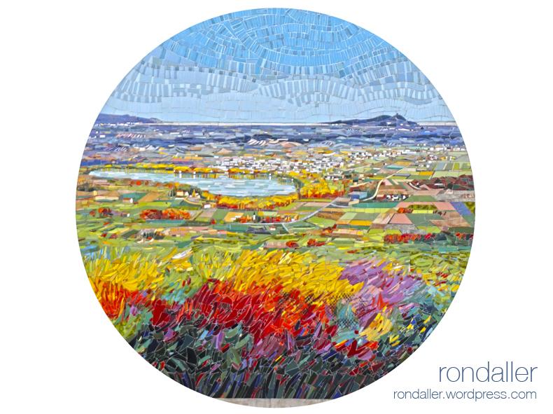 Mosaics d'Olivé-Milián i Lluis Roura a Mata, Pla de l'Estany,