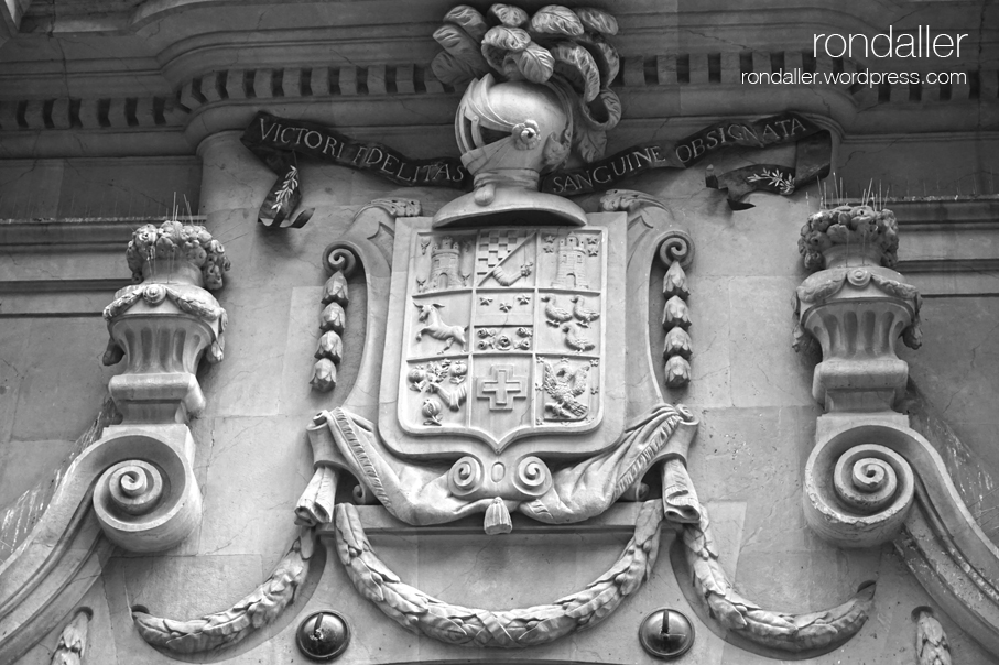 Palau Bofarull, Reus, escut, Baix Camp