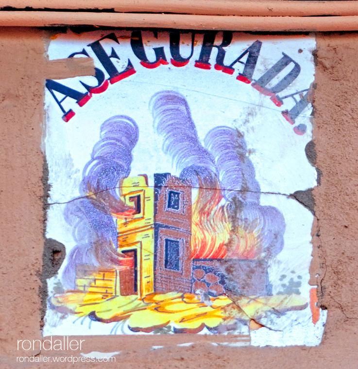 València, Rajoles d'assegurances d'incendis