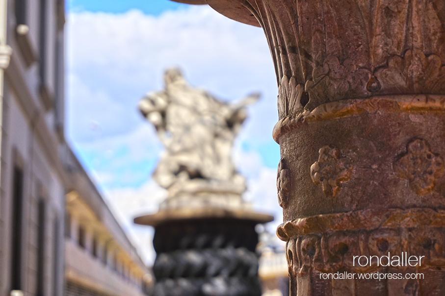 Monument al pintor Meissonier a Figueres.