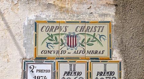 La Garriga, Vallès Oriental, rajola, plafó ceràmic, Corpus