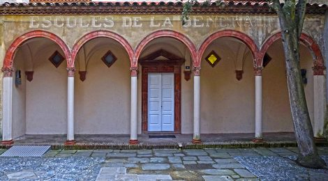 Sant Joan de les Abadesses, Ripollès, escola, Raimon Duran