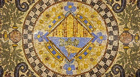 Mataró, Basílica, Maresme, mosaic, Enric Monserdà, Maragliano