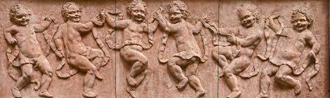 Sant Andreu Palomar, Jaume Martrús, relleu, terracota, noucentisme