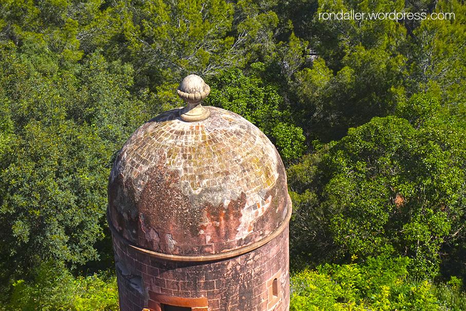 Garita del castell de Castelldefels, Baix Llobregat