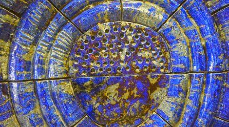 Mural ceràmic, Julio Bono, ceramista, mosaic, Barcelona