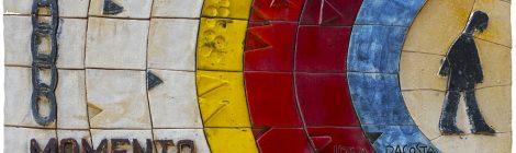 Mural ceràmic, Julio Bono, ceramista, mosaic, Terrassa
