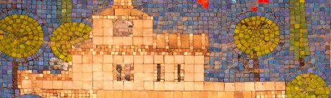 Terrassa, mosaic, 1970