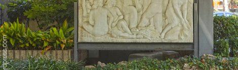 Barcelona, noucentisme, Enric Casanovas, relleu, Sarrià Sant Gervasi