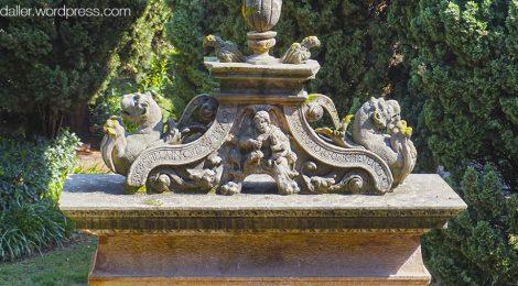 monestir, Pedralbes, renaixentista, pou, Barcelona, barroc
