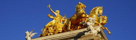 Barcelona, Parc de la Ciutadella, eclecticisme, cascada,