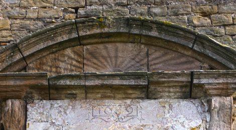 Sant Jaume de Viladrover, El Brull, Osona, església, romànic, venera