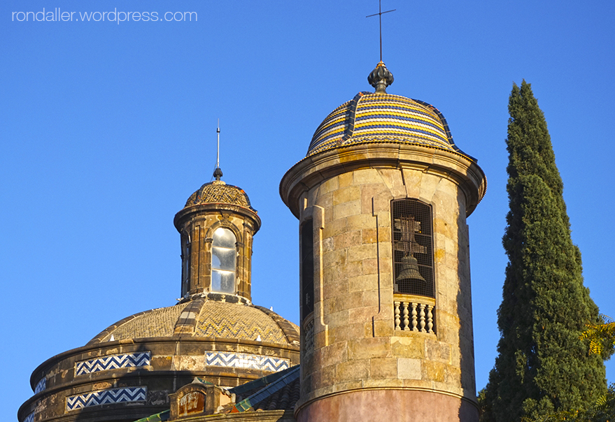 Campanar de la parròquia Castrense de la Ciutadella de Barcelona.