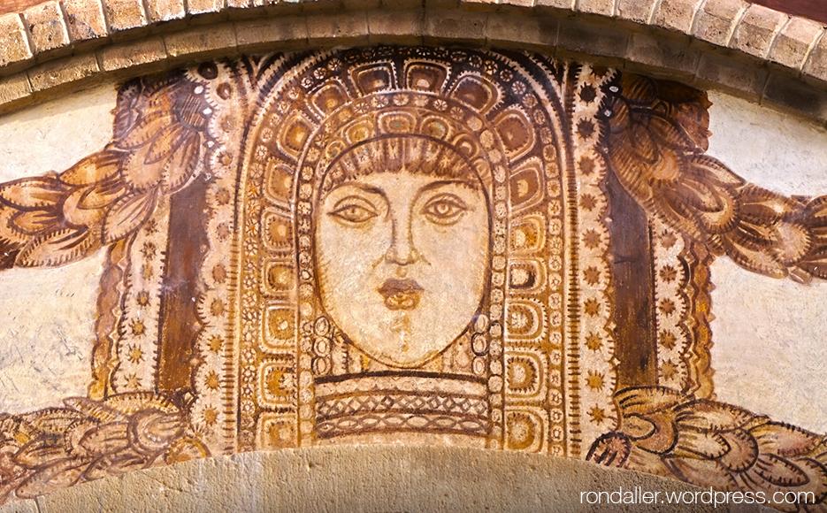 Prado Suburense de Sitges. Representació de la deessa Ixtar.