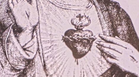 Vilanova de Sau, Sagrat Cor, Osona, devoció, placa de porta