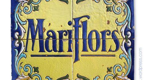 Mariflors, Mar i Flors, Vilassar de Mar, Maresme, Can Plantada, Salvador Sunet Urgellès, Josep Plantada i Artigas, ceràmica, noucentisme
