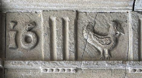 Ripoll, Ripollès, escut, pollastre, onomàstica, heràldica,