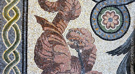 Ripoll, Ripollès, mosaic, tomba, bisbe Morgades, sepultura, Maragliano