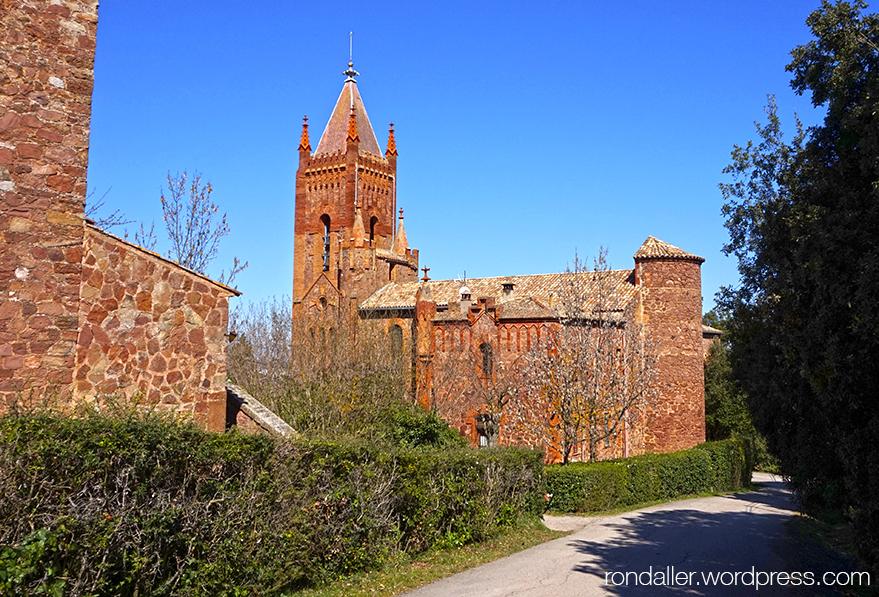 Església del Mas Casademunt del Brull, Osona.