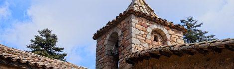 Sant Cristòfol de Cerdans, Arbúcies, romànic, església, La Selva, Montseny