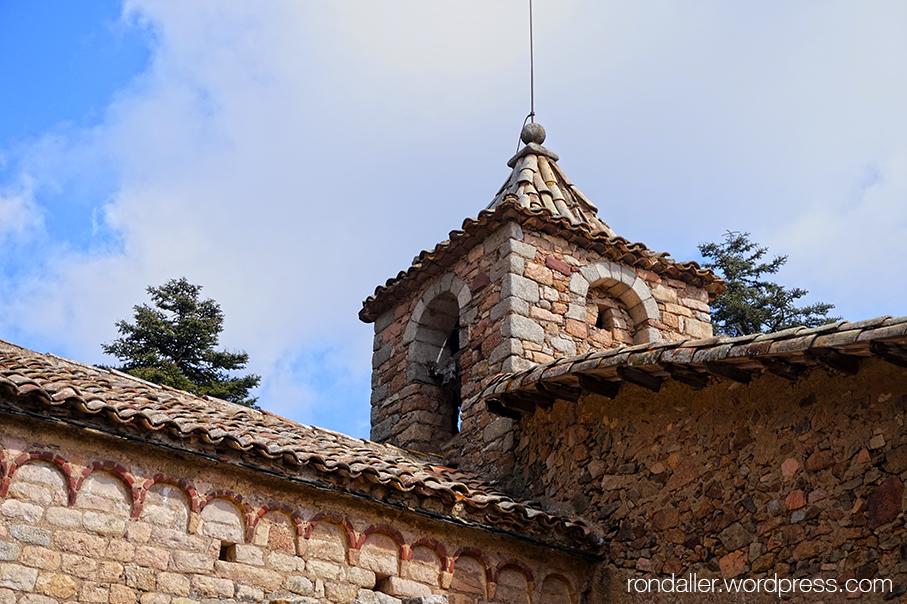 Campanar de Sant Cristòfol de Cerdans, Arbúcies.