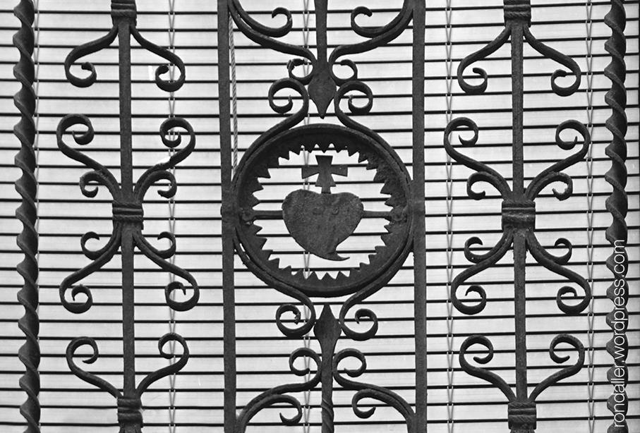 Balcó de forja de Santpedor.