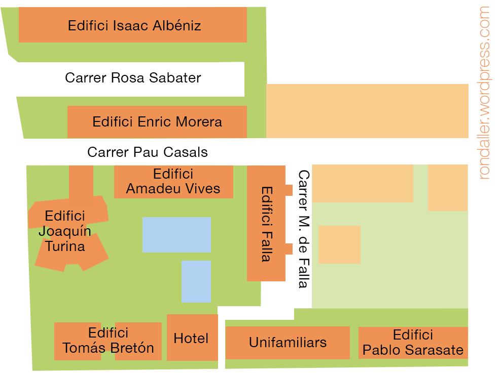 Urbanització Castillejos a Vilassar de Mar