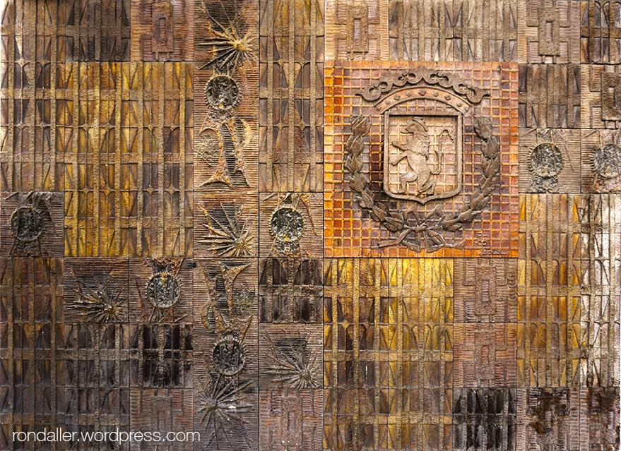 Decoració ceràmica a Vilanova i la Geltrú.