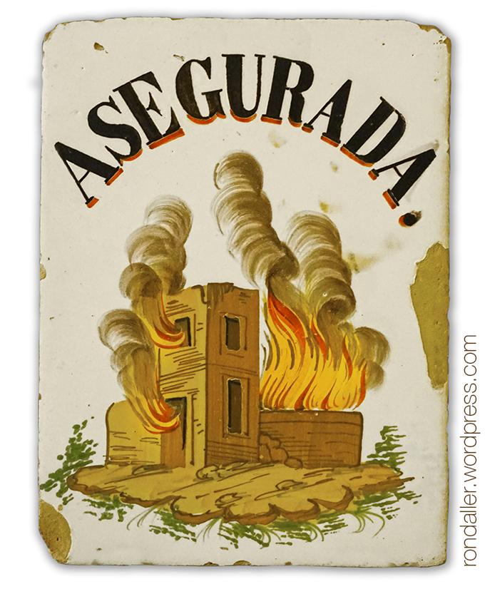 Rajoles d'assegurances d'incendis