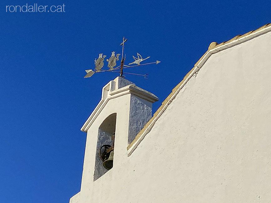 Campanar de l'ermita de La Muntanyeta dels Sants o Benissants de Sueca.