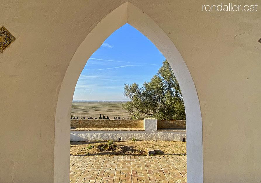 Paisatge de l'albufera de València, des de l'ermita dels Benissants de Sueca.