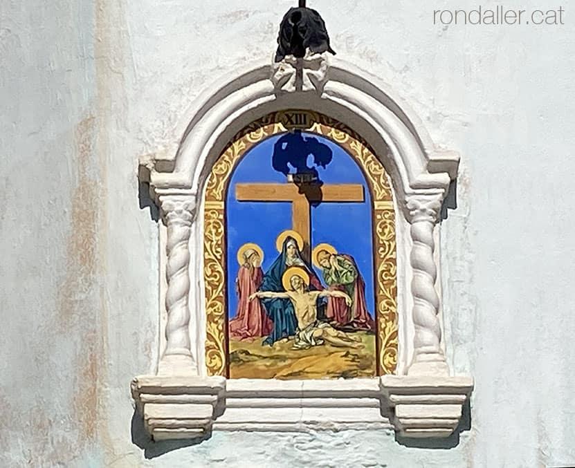 Passejada per Sueca. Capelleta del viacrucis o calvari al carrer de la Mare de Déu.