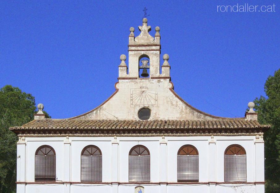Campanar de l'ermita barroca del Salvador. Passejada per Godella, Horta Nord.