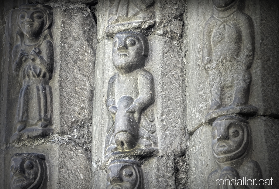 Escenes apocalíptiques a les esglésies araneses. Sant Estèue de Betren a la Vall d'Aran.