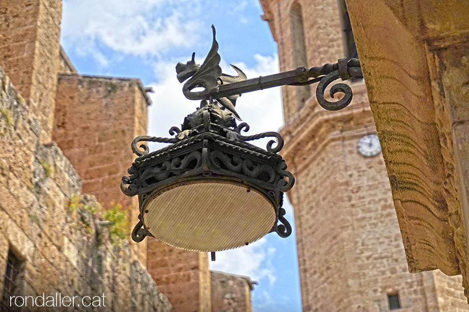 Fanal de forja de la font de Cristòfol Vidal d'Esparreguera (Baix Llobregat).