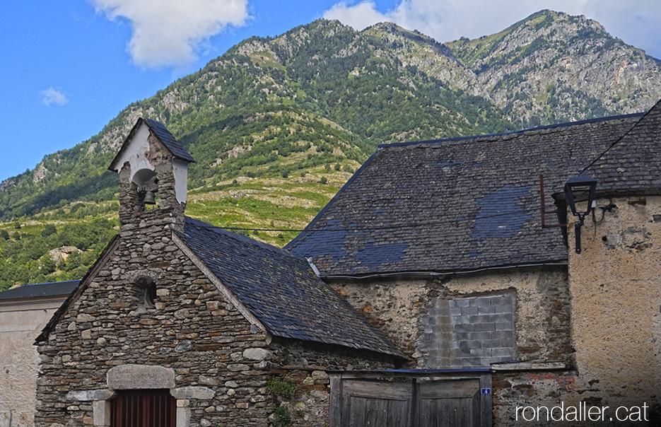 Capella de Sant Sebastià i Sant Fabià a Bossòst (Vall d'Aran).