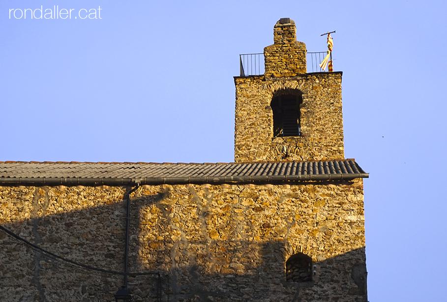 Itinerari per Alàs a lUrgellet. Campanar de l'església parroquial de Sant Esteve.