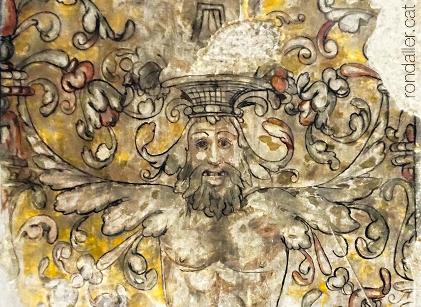 Pintures renaixentistes de la tomba del bisbe Joan Despés.