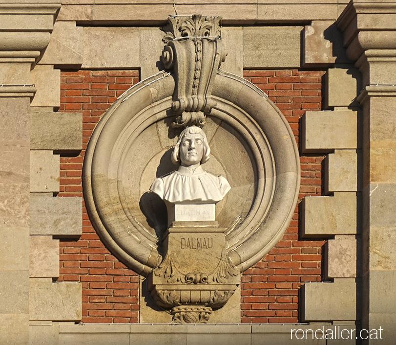 Bust de Lluís Dalmau al Parc de la Ciutadella de Barcelona.