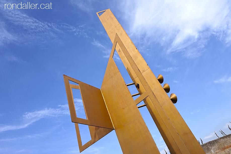 Monument a Sefarad a Palafolls realitzat per Jaume Marés.