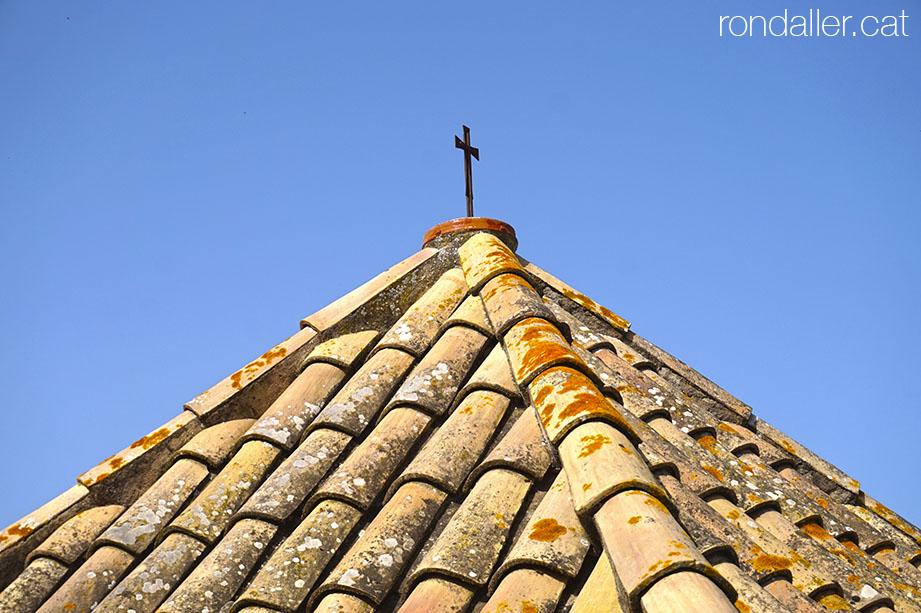 Teulada del comunidor de Sant Andreu d'Estanyol.