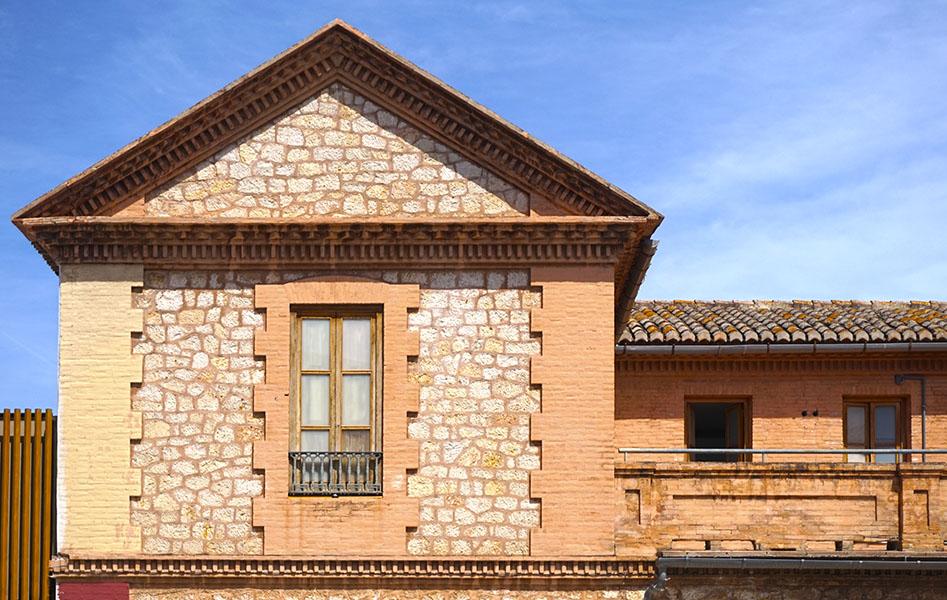Detall de l'edifici conegut com La Conserva.